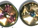 Ripple™ beads, California Blooming Meadow. 20-pack