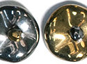 Ripple™ beads, California Graphite. 20-pack