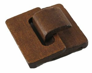 Brett trälås, 45*45 mm.