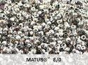 Matubo 8/0, Crystal Heliotrophe. 10 gram.