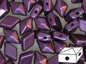 DiamonDuo™ Pastel Bordeaux, 02010/25032. 5*8 mm. 40 stycken.