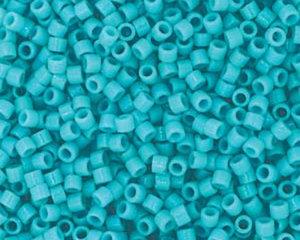 Delica 11/0, Duracoat Opaque Underwater Blue, DB2130. 5 gram.