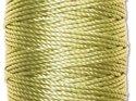 Limegrön S-Lon makramétråd