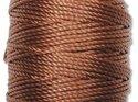 Kopparbrun S-Lon makramétråd