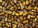 Rulla beads,  Lemon Picasso, 83120/43400. 10 gram