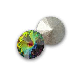 Swarowski Rivoli 12. Crystal Vitrail Medium.