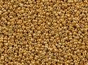 Miyuki seedbead 15/0, Galvanized Yellow Gold, 1053. 5 gram