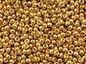 Miyuki seedbead 15/0, Duracoat Galvanized Yellow Gold, 4202. 5 gram