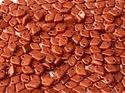 Dragon scale bead, Lava Red. 5 gram