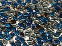 Dragon scale bead, Crystal Azuro. 5 gram