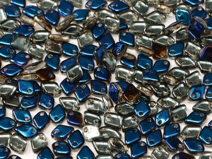 Dragon scale bead, Crystal Azuro. 5 gram