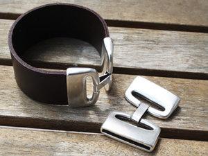 Brett lås i europeisk kvalitetsmetall, 30 mm.