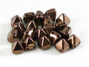Tile Pyramid, Jet Bronze Luster , 20-pack
