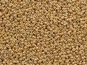 Miyuki seedbead 15/0, Galvanized Gold, 1052. 5 gram