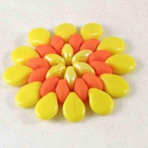 Preciosa Pip™ i opak gul, 50-pack.