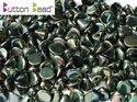 Button Bead, Jet Full Apricot Medium, 23980/29123. 30-pack.