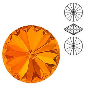 Swarowski Rivoli 12 mm, Tangerine
