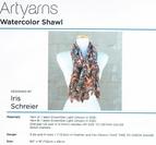 Watercolor shawl