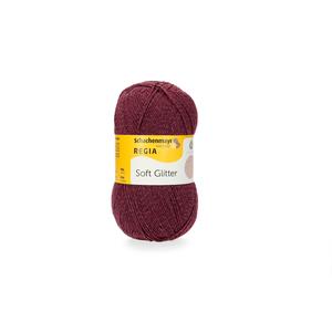 Soft Glitter - Burgundy