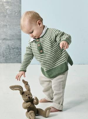 Farfars tröja till de minsta - Luna