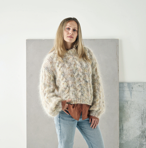 Chunky Cabel Sweater - Bella Color