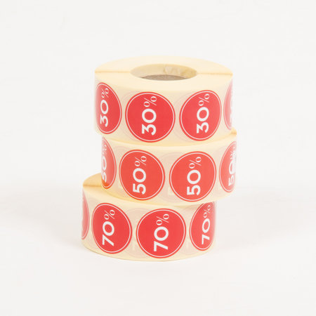 ETIKETTER - Rea 70% / 3-pack