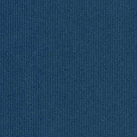 PRESENTPAPPER  - Mörkblå ribbat 38cm