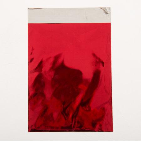 Foliepåse - Blanka/Röd XS