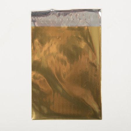 Foliepåse - Blanka/Guld L