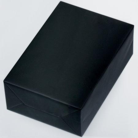PRESENTPAPPER - Svart matt 18cm
