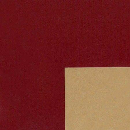 PRESENTPAPPER - Bordeaux/Guld 57cm