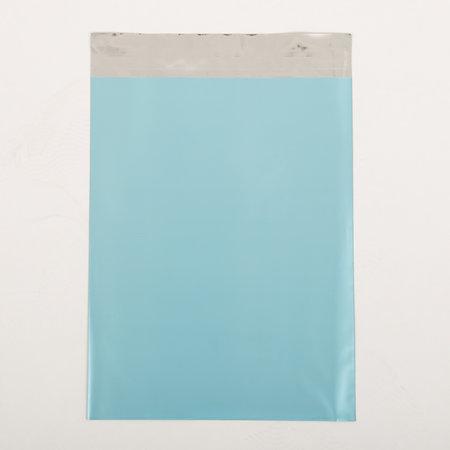 Foliepåse - Matt/Ljusblå L