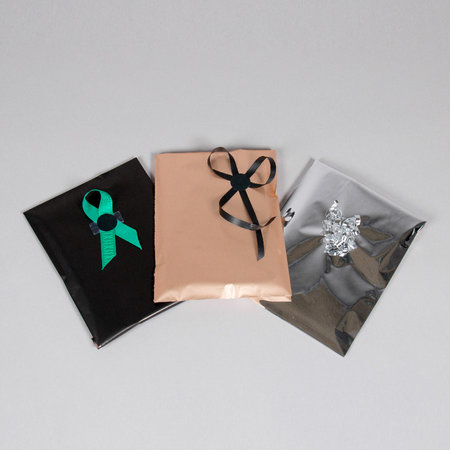 Foliepåse - Matt/Rosa XS