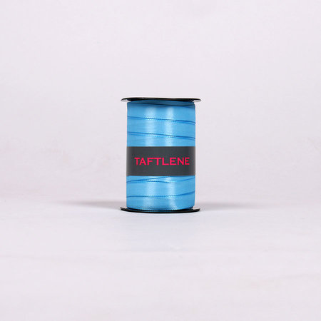 SATINBAND - Ljusblå