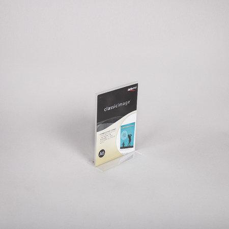Akrylskylt  - A6 T-fot