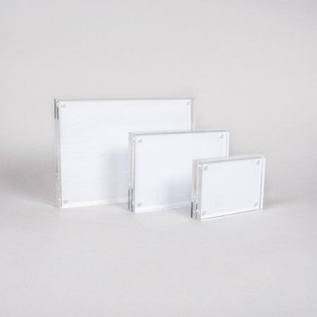 Akrylblock med magnet 30mm - A6