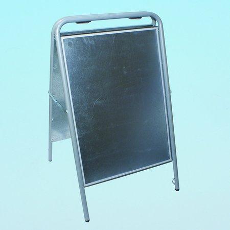 Gatuställ Sign, 70x100cm, Silver