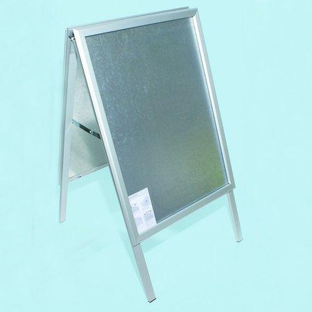 Gatuställ Alu-line, 50x70cm, Aluminium