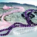 Malas Halsband av Rosenkvarts