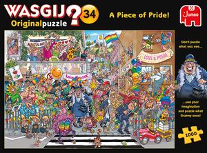 Wasgij Original #34 A Piece of Pride! 1000 Bitar Jumbo