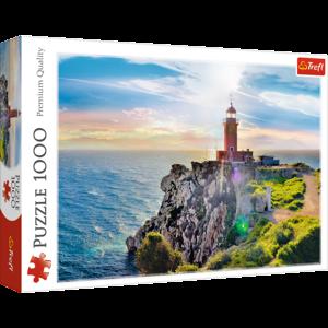The Melagavi lighthouse, Greece 1000 Bitar Trefl