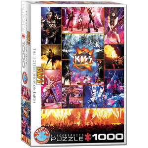 Kizz The Hotest show on Earth 1000 Bitar Eurographics Puzzle