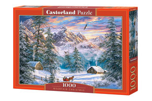 Mountain Christmas 1000 Bitar Castorland
