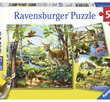 Forest/Zoo/Domestic Animals 3x49 Bitar Ravensburger
