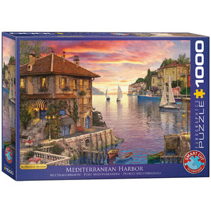 Mediterranean Harbor 1000 Bitar Eurographics Puzzle