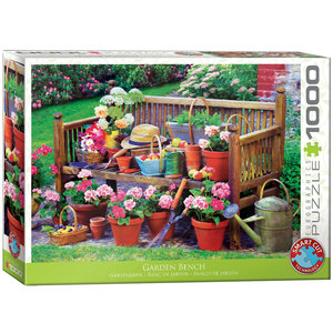 Garden Bench 1000 bitar Eurographics Puzzle