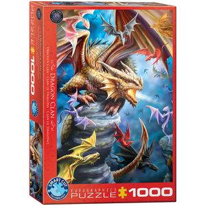 Dragon Clan 1000 Bitar Eurographics Puzzle