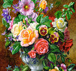 Flowers in Vase 500 Bitar Castorland
