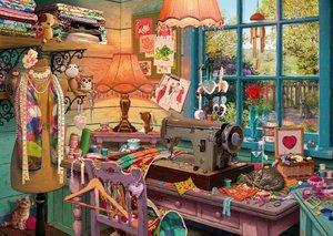 In the sewing room 1000 Bitar Schmidt