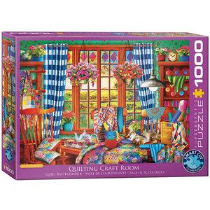 Quilting Craft Room 1000 Bitar Eurographics Puzzle